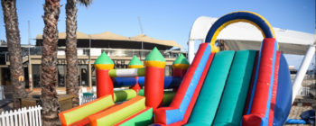 Supervised kids play area - a jungle gym, ball pit and various kids activities, under the supervision of dedicated Au Pairs, offers you the chance to relax while your little ones are entertained
